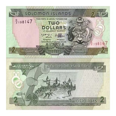 SALOMON - Pk N° 18 - Billet de 2 Dollars