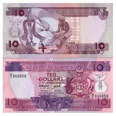 Salomon - Pk N° 15 - Billet de 10 Dollars