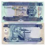 Banknoten Sammlung Solomon Pick Nummer 26 - 5 Dollar