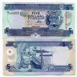 Salomon - Pk N° 26 - Billet de collection de 5 Dollars