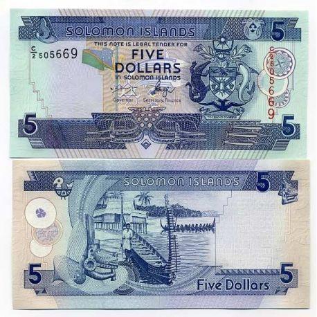Solomon - Pk Nr. 26-$ 5 Hinweis
