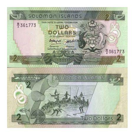 Salomon - Pk N° 13 - Billet de 2 Dollars