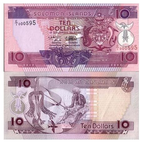 Salomon - Pk N° 20 - Billet de 10 Dollars