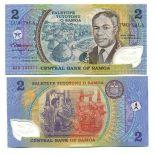 Bello banconote Samoa Pick numero 31 - 2 Tala