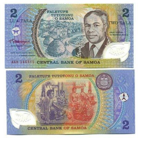 Samoa - Pk N° 31 - Billet de 2 TALA