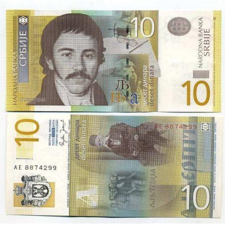 Serbie - Pk N° 46 - Billet de 1 Dinara