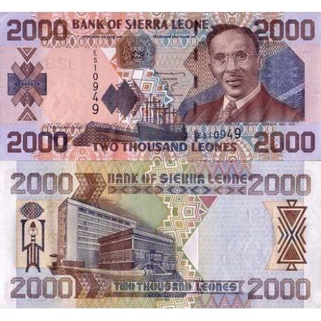 Sierra Leone - Pk N° 27 - Billet de 2000 Leones