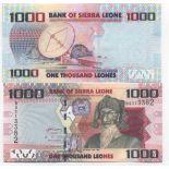 Colección Billetes Sierra Leona Pick número 30 - 1000 Leone