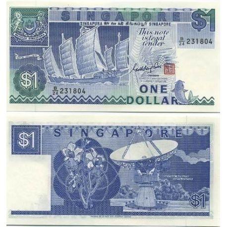 Billet de banque Singapour Pk N° 18 - 1 Dollar