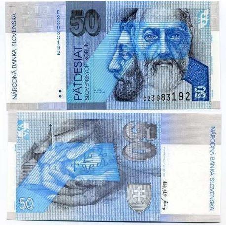 Slovaquie - Pk N° 21 - Billet de 50 Korun