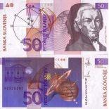 Billetes colección Eslovenia PK N° 13 - 50 contusionó