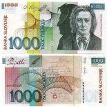 Billet de collection Slovenie Pk N° 29 - 1000 Tollarjev