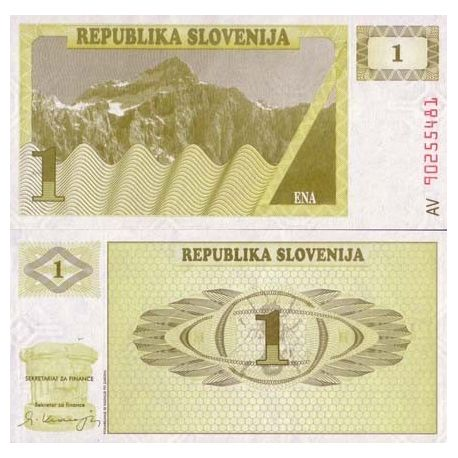 Slovenia - Pk No. 1 - 1 ticket Tollar