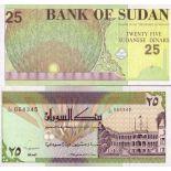 Billets de banque Soudan Pk N° 53 - 25 Dinars