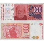 Collezione banconote Argentina Pick numero 327 - 100 Peso 1985