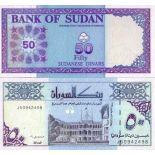 Los billetes de banco Sudán Pick número 54 - 50 Livre