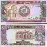 Precioso de billetes Sudán Pick número 44 - 100 Livre