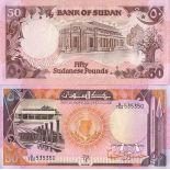 Precioso de billetes Sudán Pick número 48 - 50 Livre