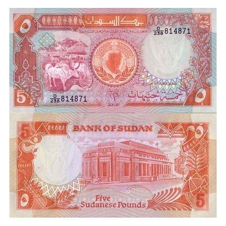 Soudan - Pk N° 45 - Billet de 5 Pounds