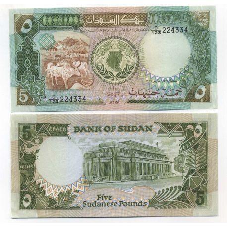 Sudan - Pk Nr. 40 - 5 Pfund Anmerkung