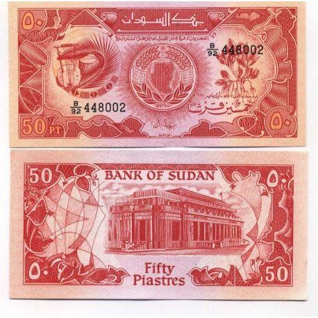 Soudan - Pk N° 38 - Billet de 50 Piastres