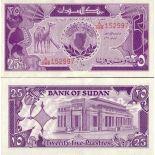 Billets de banque Soudan Pk N° 37 - 25 Piastres