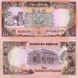 Colección de billetes Sudán Pick número 46 - 10 Livre