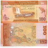 Collezione di banconote Sri Lanka Pick numero 125 - 100 Roupie