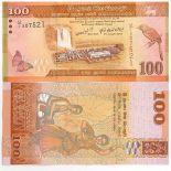Sammlung von Banknoten Sri Lanka Pick Nummer 125 - 100 Roupie