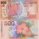 Billet de collection SURINAM Pk N° 150 - 500 Gulden