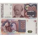 Banknoten Argentinien Pick Nummer 329 - 1000 Peso 1988