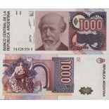 Los billetes de banco Argentina Pick número 329 - 1000 Peso 1988