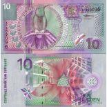 Sammlung von Banknoten Suriname Pick Nummer 147 - 10 Gulden