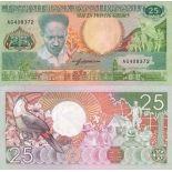 Colección Billetes Suriname Pick número 132 - 25 Gulden