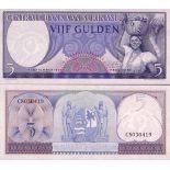 Bello banconote Suriname Pick numero 120 - 5 Gulden