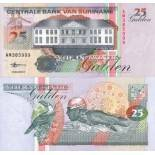 Colección Billetes Suriname Pick número 138 - 25 Gulden