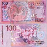 Beautiful banknote Suriname Pick number 149 - 100 Gulden