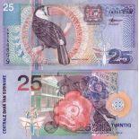 Billet de banque SURINAM Pk N° 148 - 25 Gulden