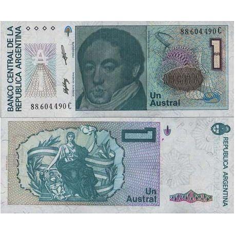 Argentine - Pk N° 323 - Billet de 1 Austral