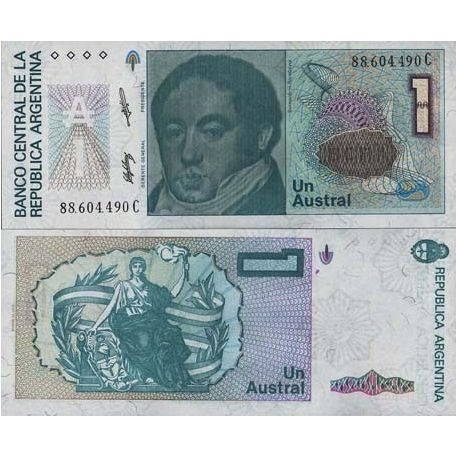 Billets banque Argentine Pk N° 323 - 1 Austral