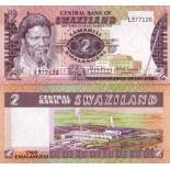 Billets banque Swaziland Pk N° 8 - 2 Lilangeni