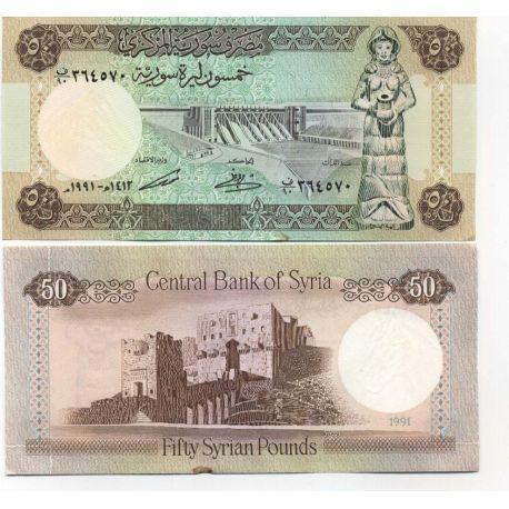 Syrie - Pk N° 103 - Billet de 50 Pounds