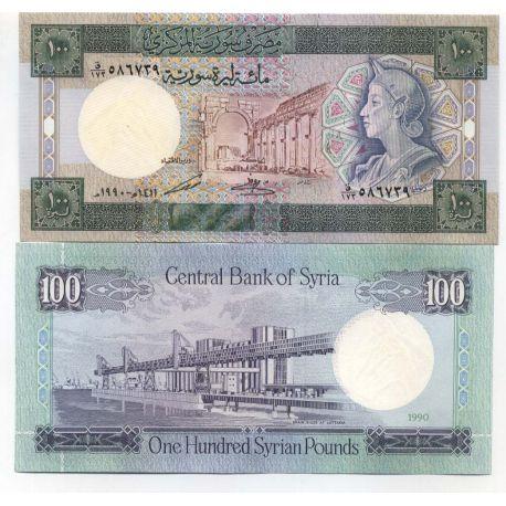 Billets de collection Billets collection Syrie Pk N° 104 - 100 Pounds Billets de Syrie 10,00 €