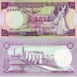 Billets de banque Syrie Pk N° 101 - 10 Pounds