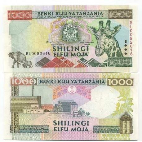 Billets de banque Tanzanie Pk N° 31 - 1000 Shilings