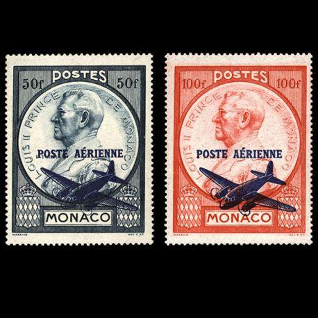 Timbre Monaco PA N° 13/14 neuf sans charnière