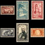 Monaco Briefmarken Luftpost N° 36/41 Postfrisch