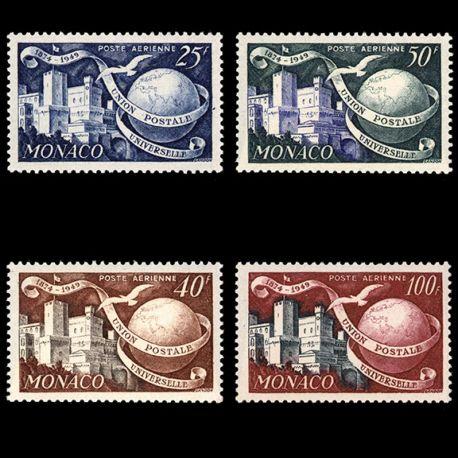 Timbre Monaco PA N° 45/48 neuf sans charnière