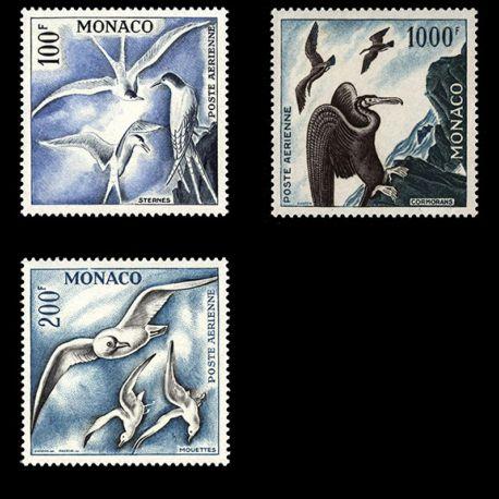 Timbre Monaco PA N° 66/68 neuf sans charnière
