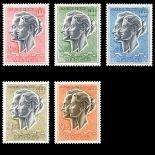 Monaco Briefmarken Luftpost N° 87 / 90A Postfrisch
